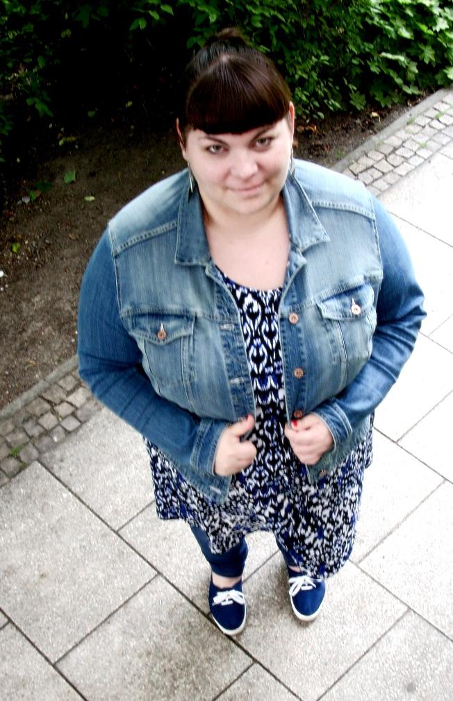 Jeansjacke Plus Size