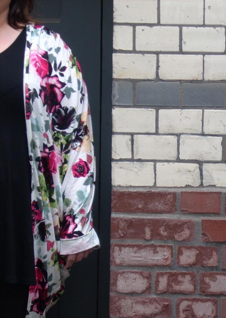 Kimono in Übergroesse