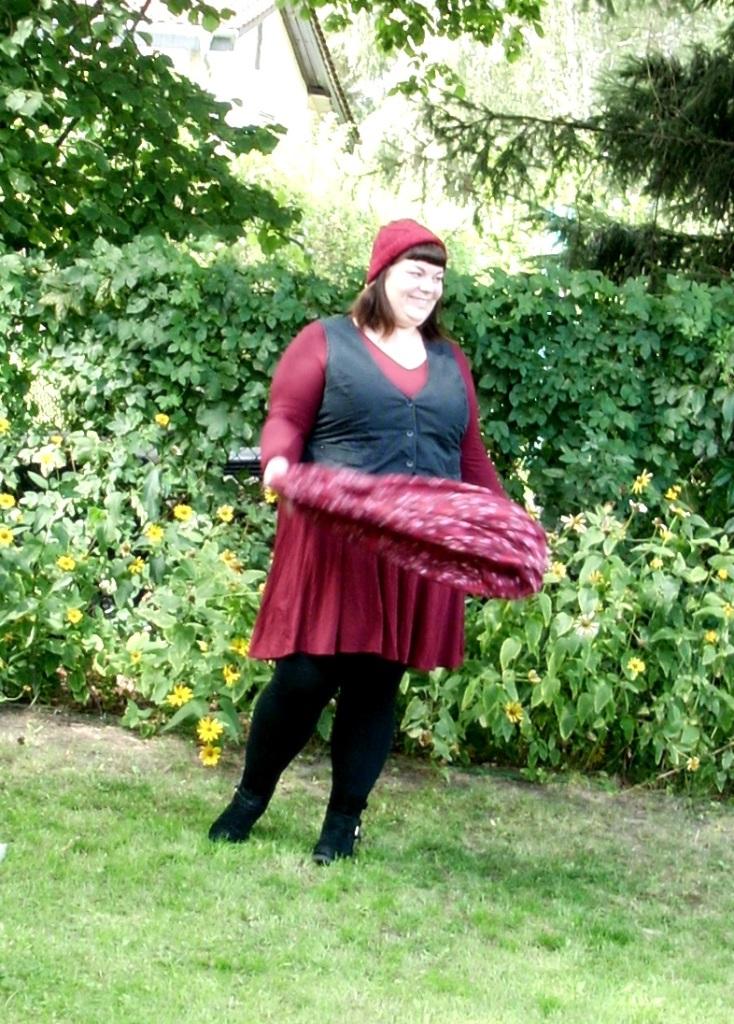 Rotes Plus Size Kleid