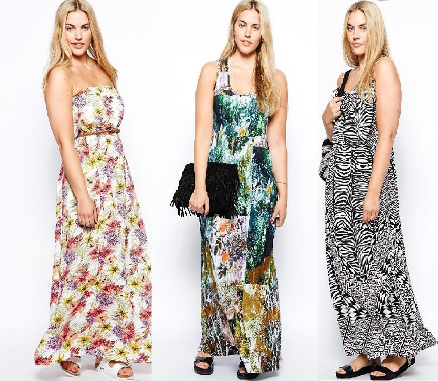 Plus Size Sommerkleider
