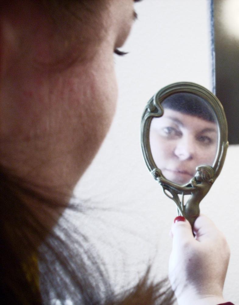Jugenstil Spiegel