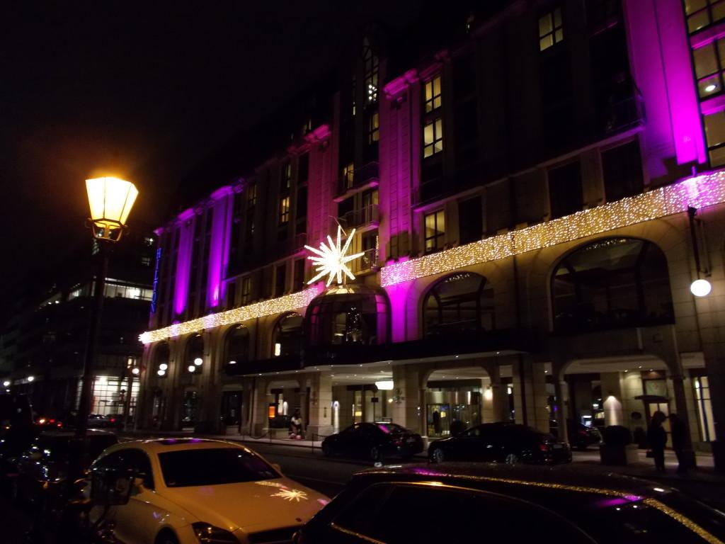 Hilton Berlin zu Weihnachten