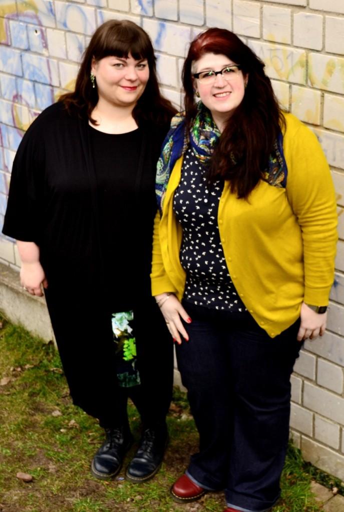 Plus Size Blogger Katrin und Sabrina