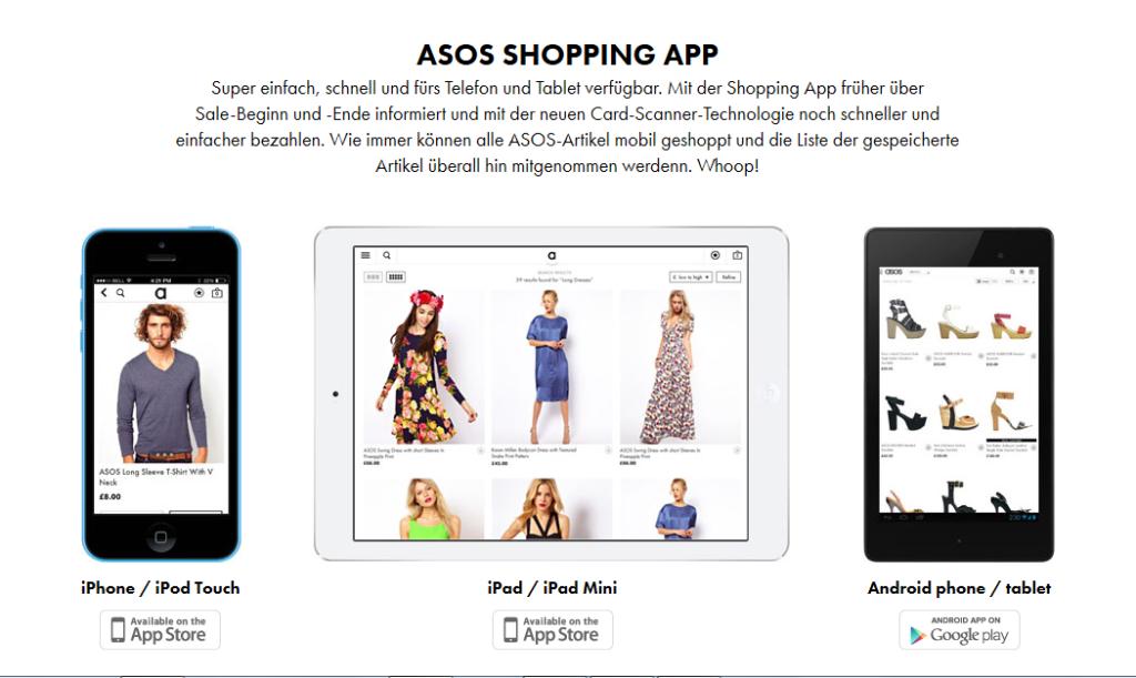 Asos Shopping App