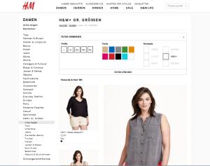 H&M+ Landingpage