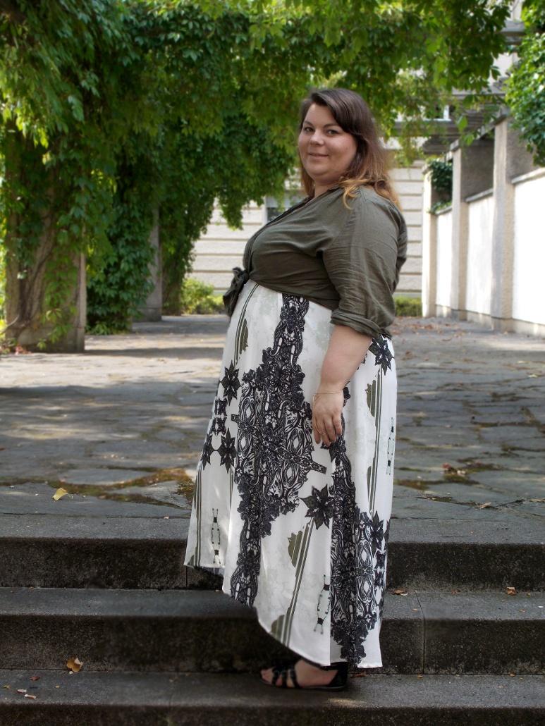 Plus Size Sommerkleid von Mat