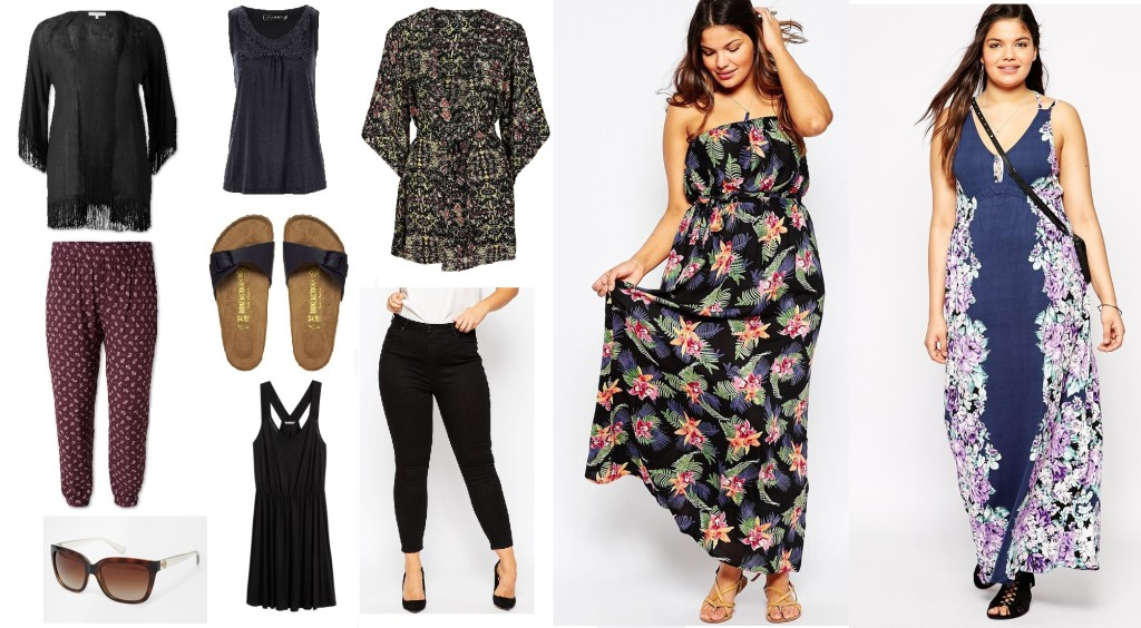 Plus Size Sommercollage