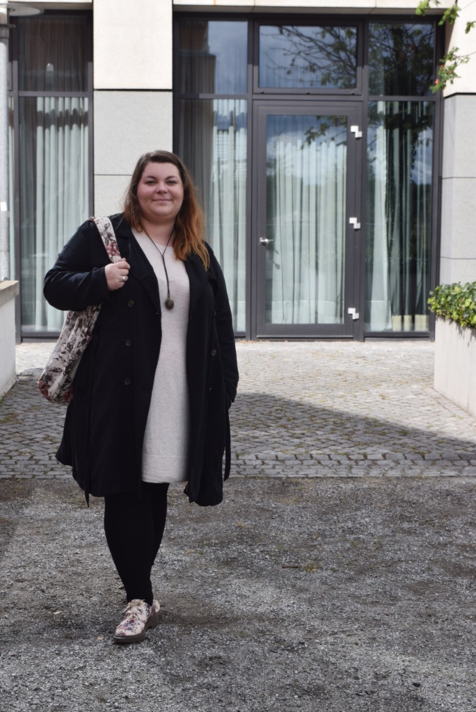 Plus Size Herbst Outfit