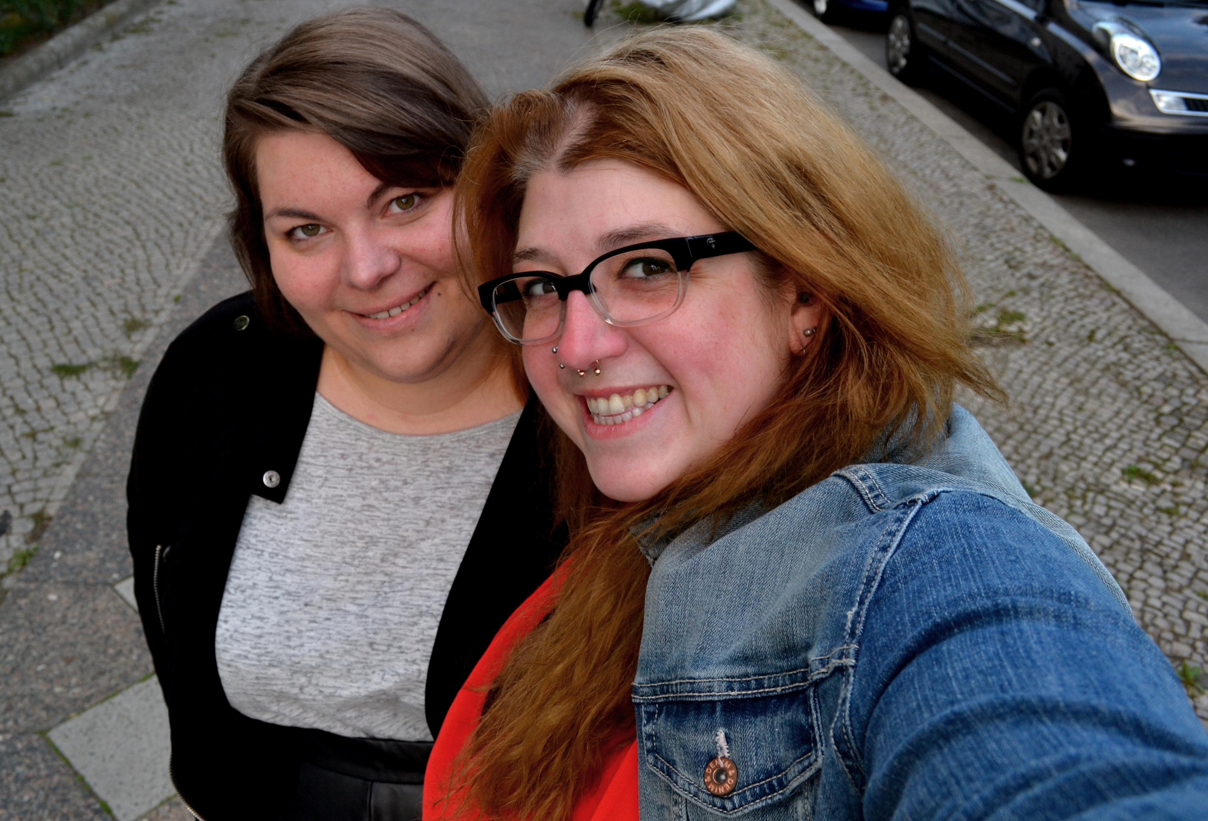 Selfie Katrinski und Brinchen