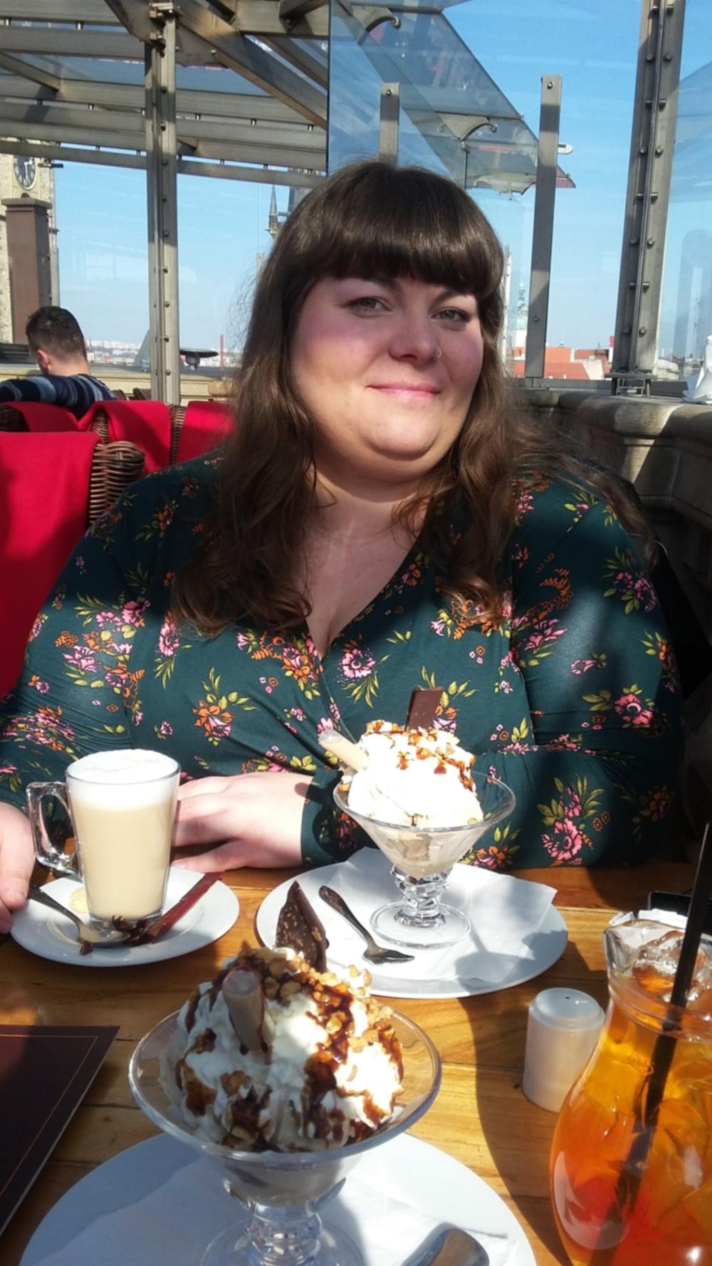 Katrinski im Restaurant über den Dächern Prags am Altstädter Ring