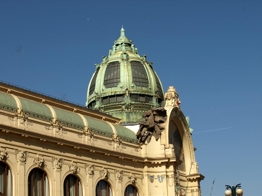 Obecní dům - Prager Gemeinde- bzw. Repräsentantenhaus im Jugenstil