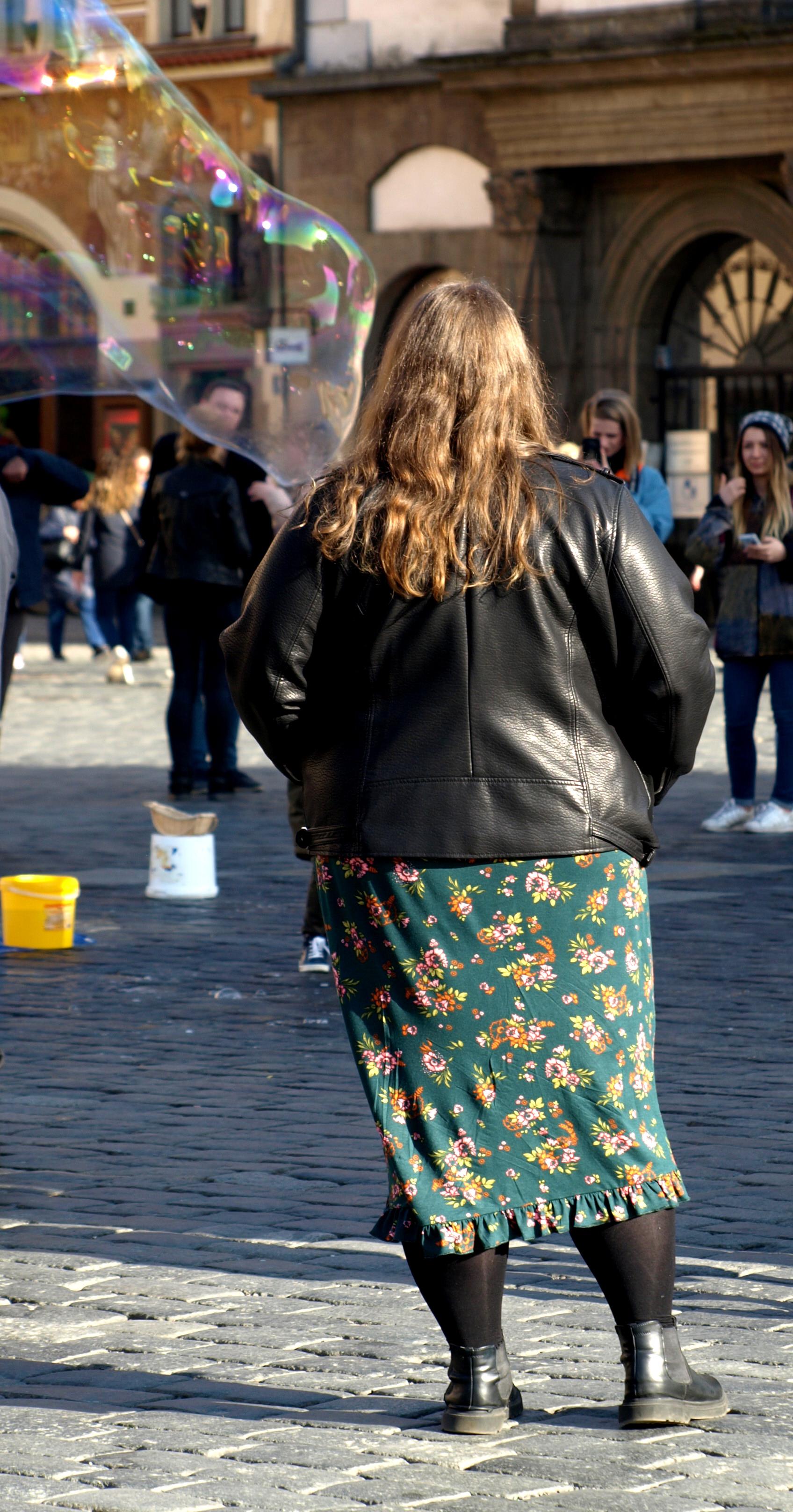 Katrinski von Sizeplus-Style in Prag auf dem Altstädter Ring